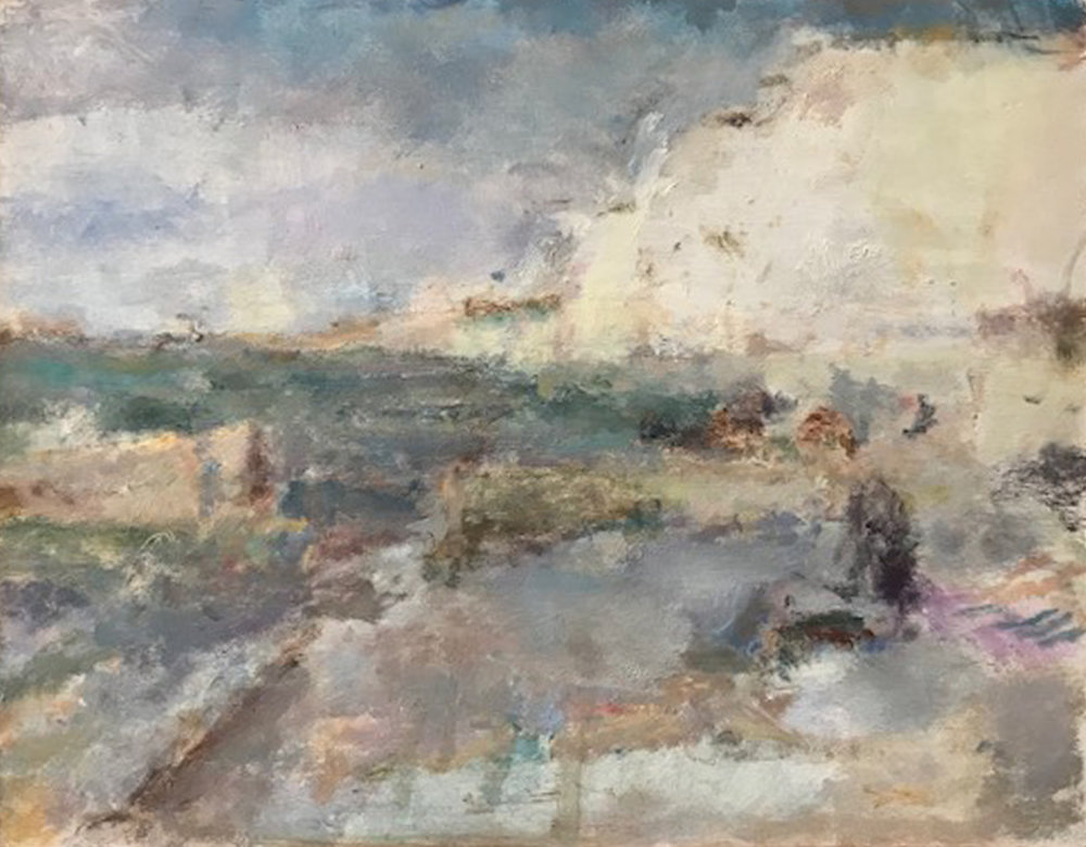 Artist: Anja Niedring  Title: Jimmy on the Beach  Size: 24 x 31 cm  Medium: Oil on board  Price: £580   Buy Now