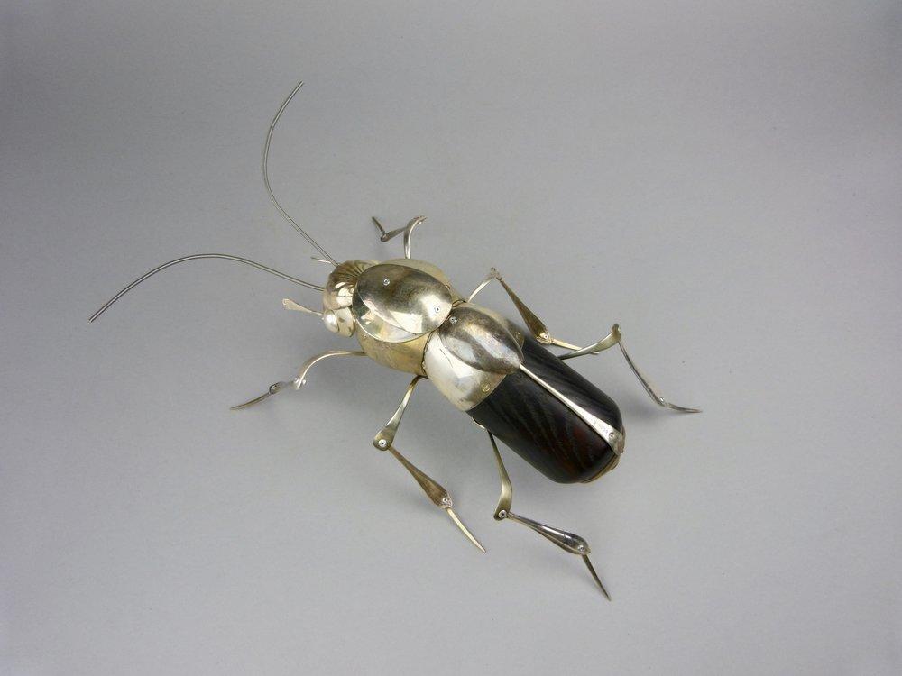 Artist: Dean Patman  Title: Soldier Beetle  Size: 43 cm (length)  Medium: Mixed media  Price: £750