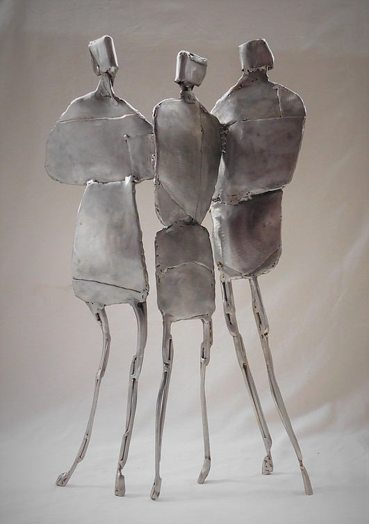 Title: Family Group Medium: Stainless Steel  Price: £1560