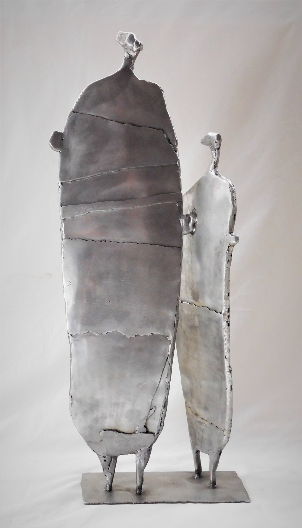 Title: Mother and Child Medium: Stainless Steel  Price £1520