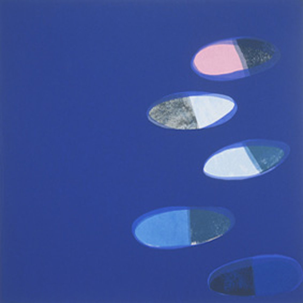 Artist: Hetty Haxworth  Title: Stone Garden II  Size: 70 x 70 cm  Medium: Screenprint  Price: £360   Buy Now