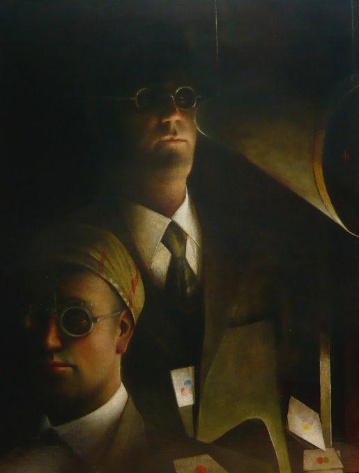 Artist: Kevin Hendley  Title: Spectrum  Size: 66 x 91 cm  Medium: Oil on panel  Price: £4500   Buy Now