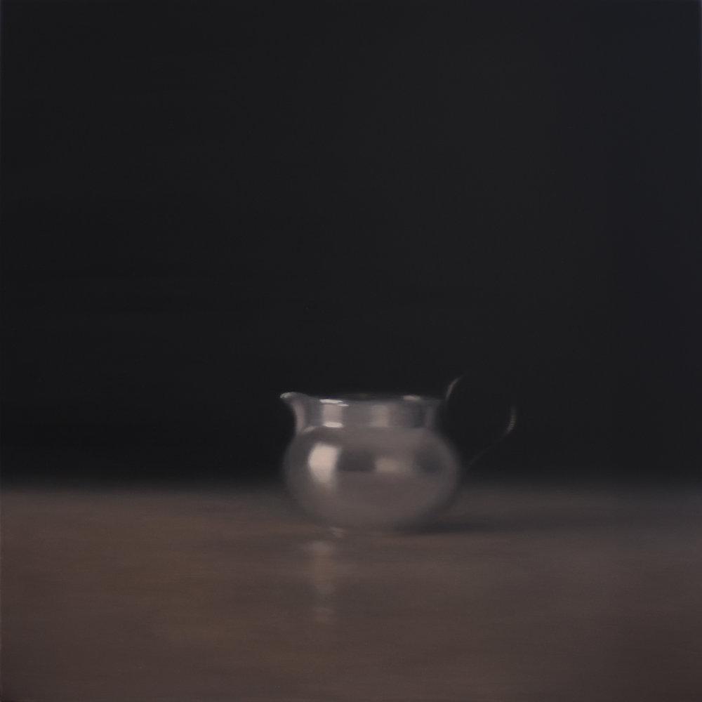 Artist: Harriet Porter  Title: Dissolve  Size: 93 x 93 cm  Medium: Oil on canvas  Price: £2950   Buy Now