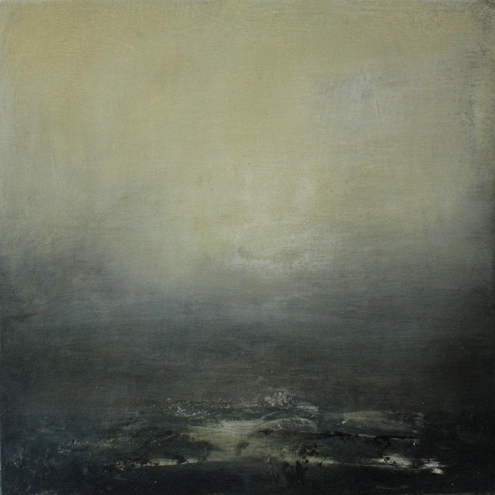 Artist: Victoria Graimes  Title: Conceal  Size: 40 x 40 cm  Medium: Oil on canvas  Price: £625   Buy Now