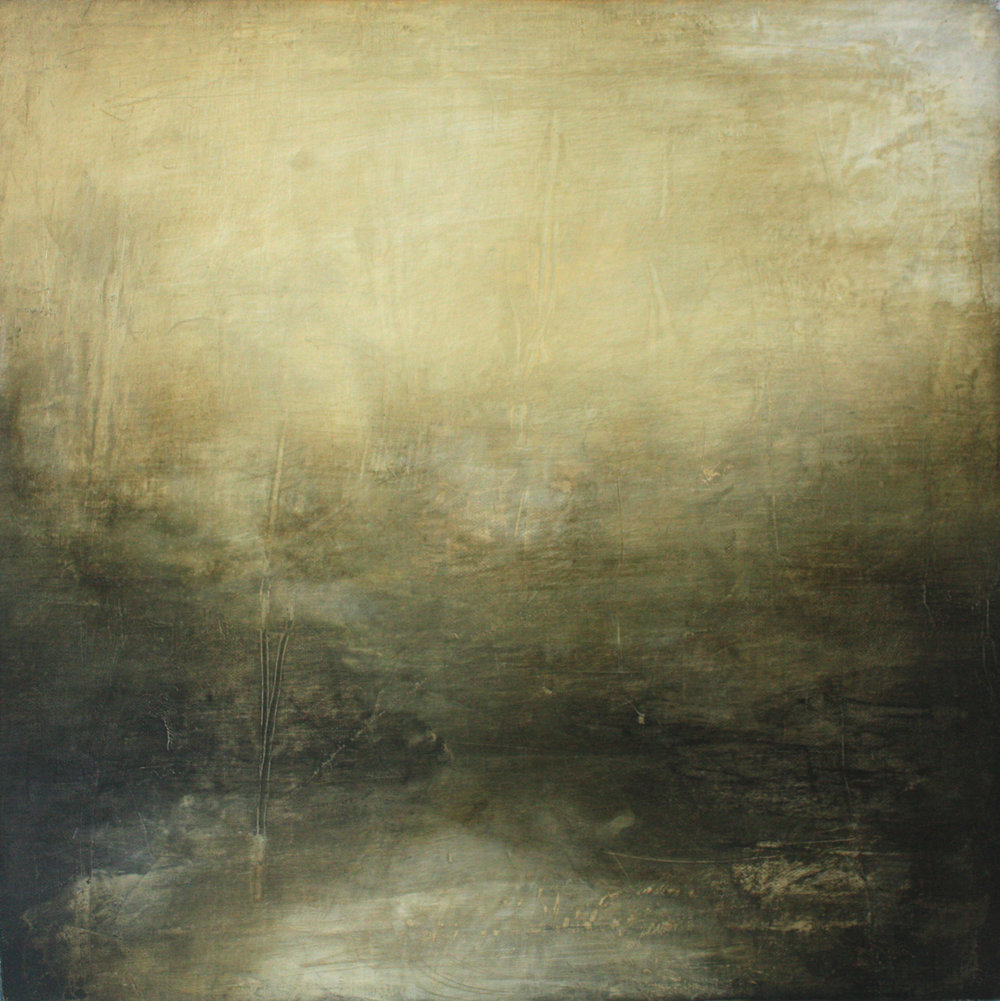 Artist: Victoria Graimes  Title: Reveal  Size: 40 x 40 cm  Medium: Oil on canvas  Price: £625   Buy Now
