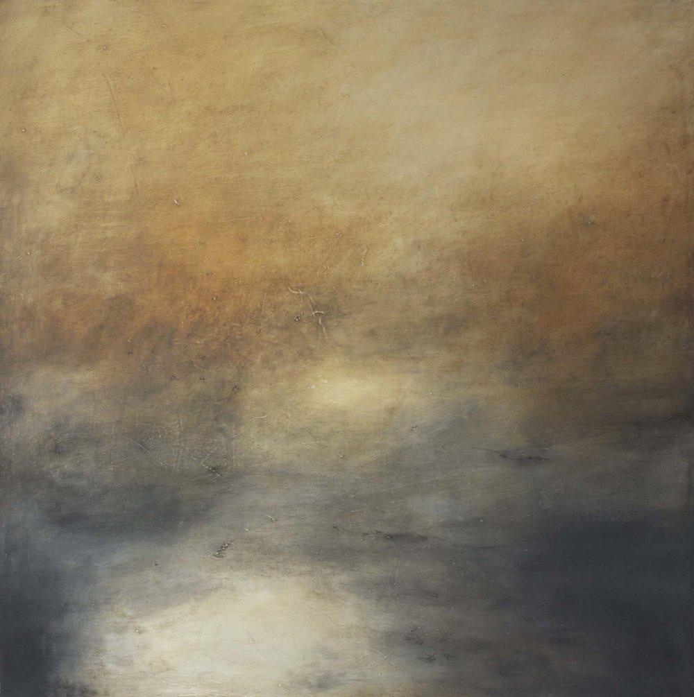 Artist: Victoria Graimes  Title: Ethereal Light II  Size: 90 x 90 cm  Medium: Oil on canvas  Price: £2250   Buy Now