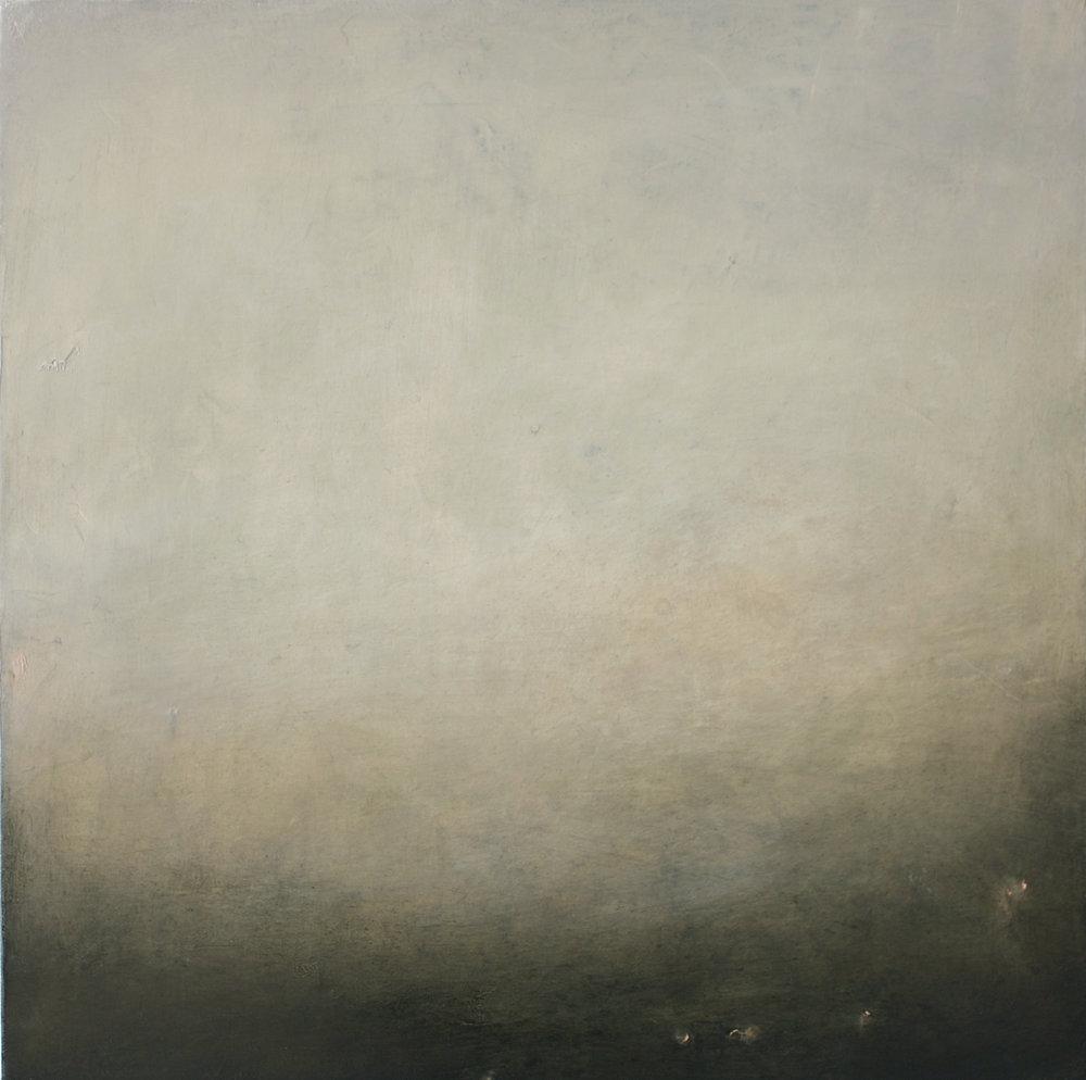 Artist: Victoria Graimes  Title: Evolve 2  Size: 40 x 40 cm  Medium: Oil on canvas  Price: £625   Buy Now