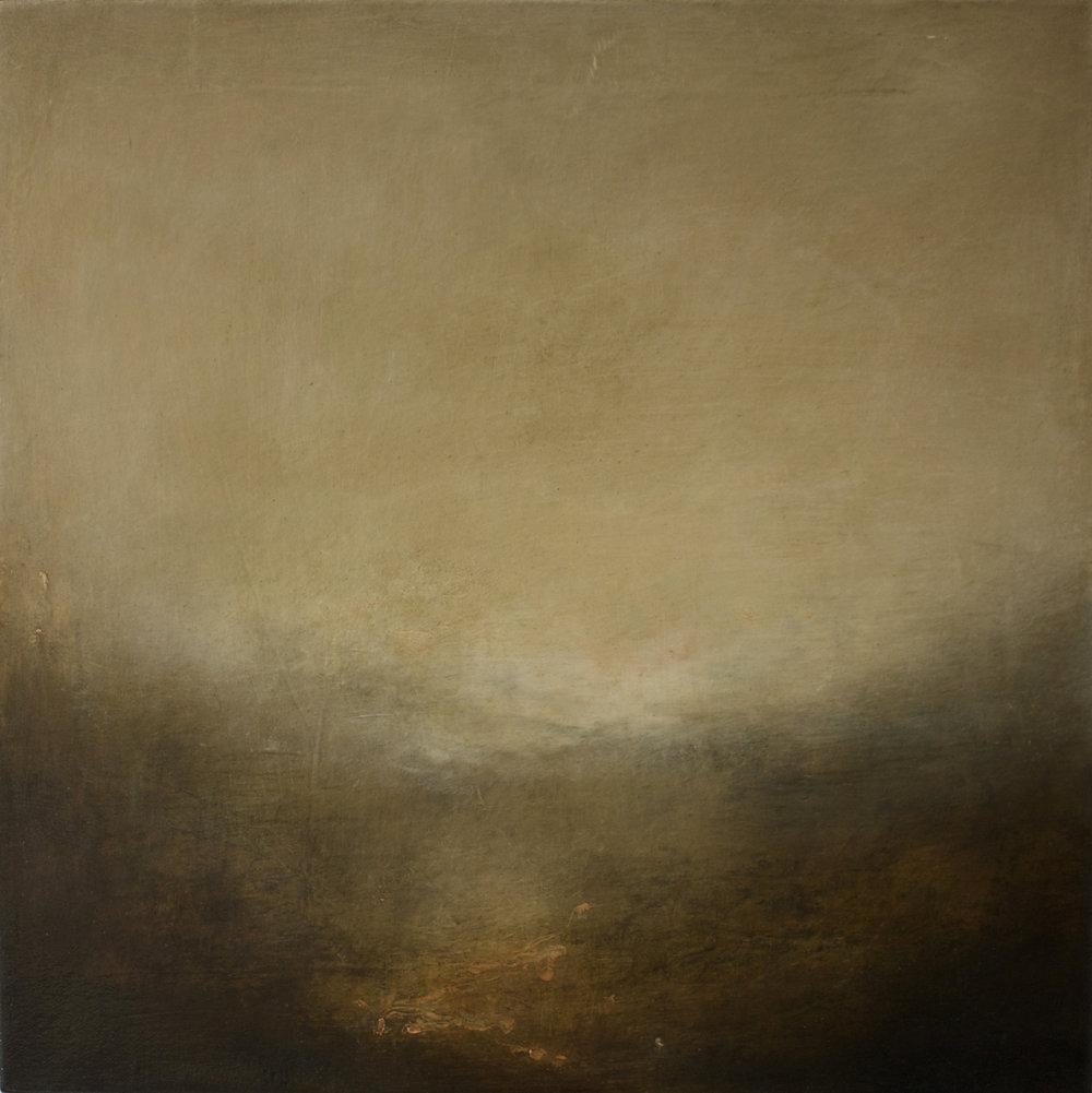 Artist: Victoria Graimes  Title: Evolve 3  Size: 40 x 40 cm  Medium: Oil on canvas  Price: £625   Buy Now