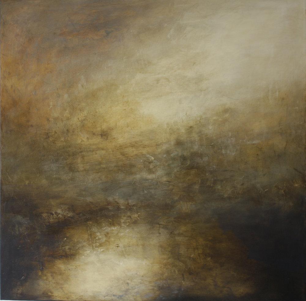Artist: Victoria Graimes  Title: Elements  Size: 115 x 115 cm  Medium: Oil on canvas  Price: £3250   Buy Now