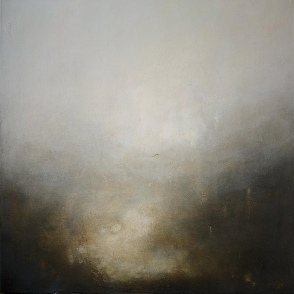 Artist: Victoria Graimes  Title: Dale  Size: 100 x 100 cm  Medium: Oil on canvas  Price: £2500   Buy Now