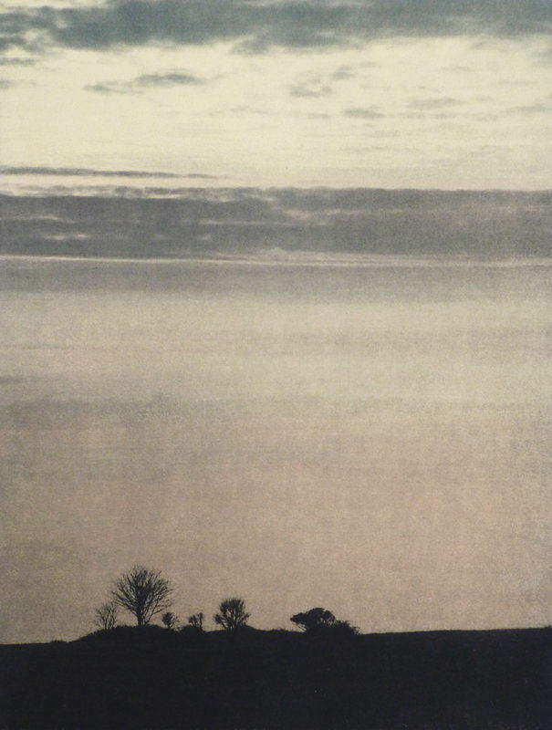 Title: Towards the Sea  Size: 36 x 26.5 cm  Medium: Solar etching and oil paint (edition of 6)  Price: £285 fr   Buy Now