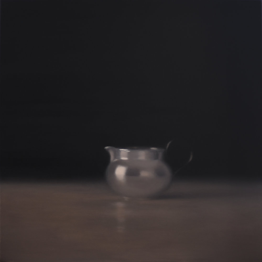 Artist: Harriet Porter  Title: Dissolve  Size: 93cm x 93cm  Medium: oil on canvas  Price: £2950