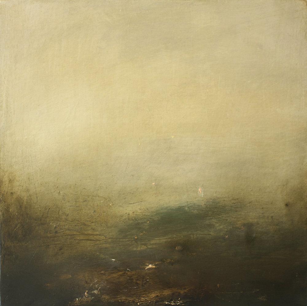 Artist: Victoria Graimes  Title: Reveal  Size: 40cm x 40cm  Medium: oil on canvas  Price: £650