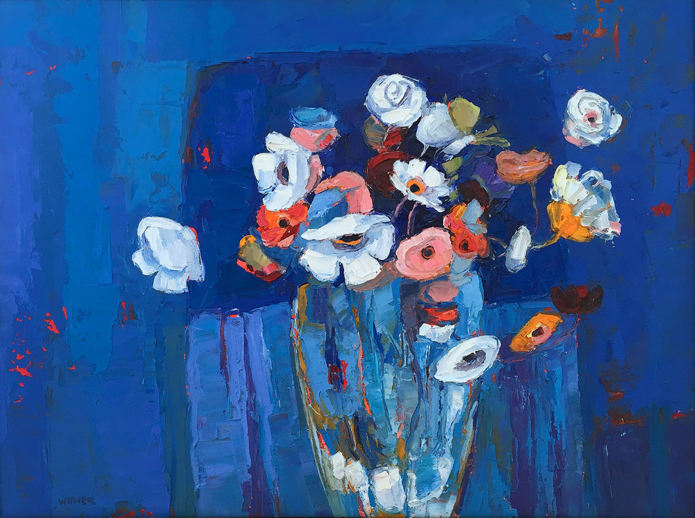 Artist: Kirsty Wither  Title: Gone Wild  Size: 30cm x 40cm  Medium: oil on canvas  Price: £1950