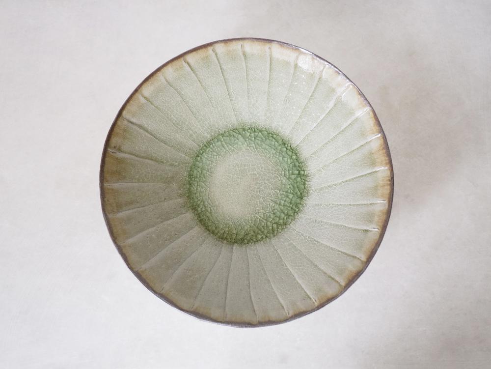 Large Fluted Dish
