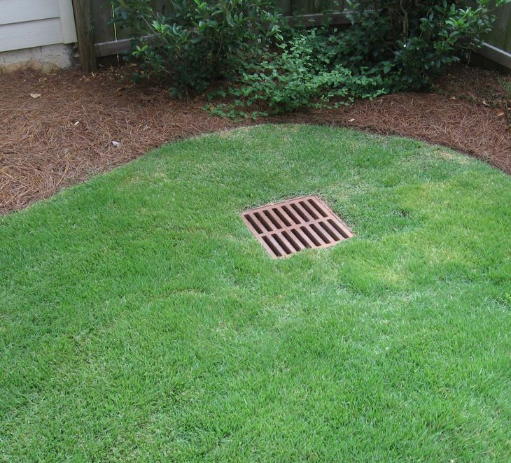 French Drains, Concrete Catch Basins, And In-Ground