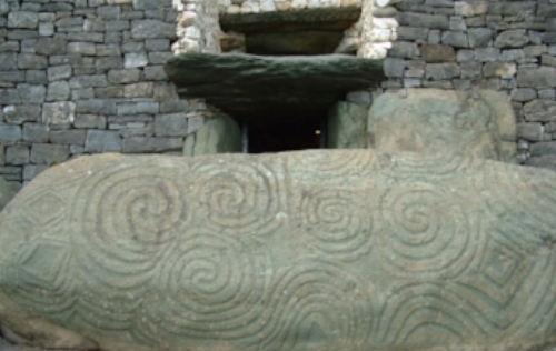 Newgrange, Ireland The Entrance Stone  ow.ly/G55NA