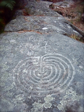 Labyrinth at Meis, Galicia