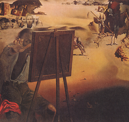 Image: Salvador Dalí. Impressions of Africa (1938). http://ow.ly/wL9Wd