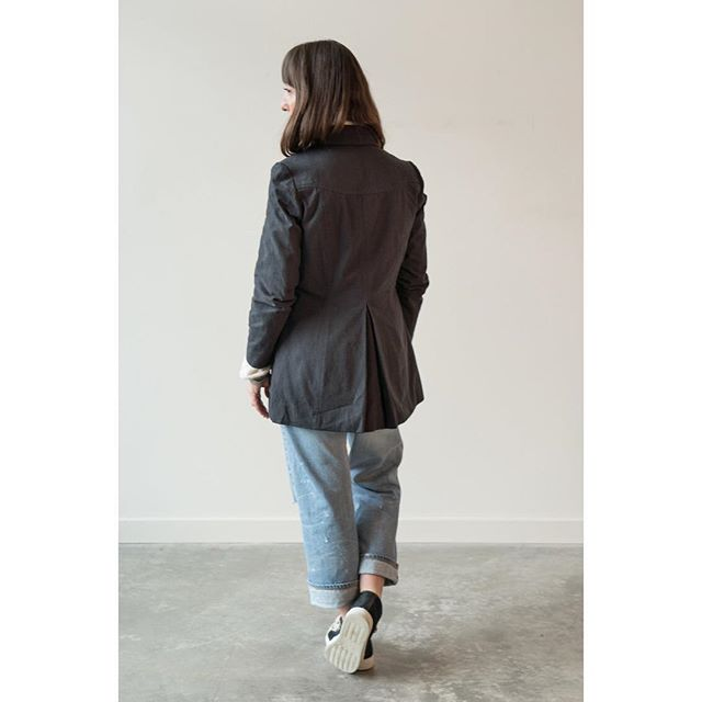 """""""While clothes may not make the woman, they certainly have a strong effect on her self-confidence, which, I believe, does make the woman."""" ― Mary Kay Ash  Get made and be confident in Stella Love's """"R Jacket."""" Check it and Stella Love's entire collection out at stellalove.com."""