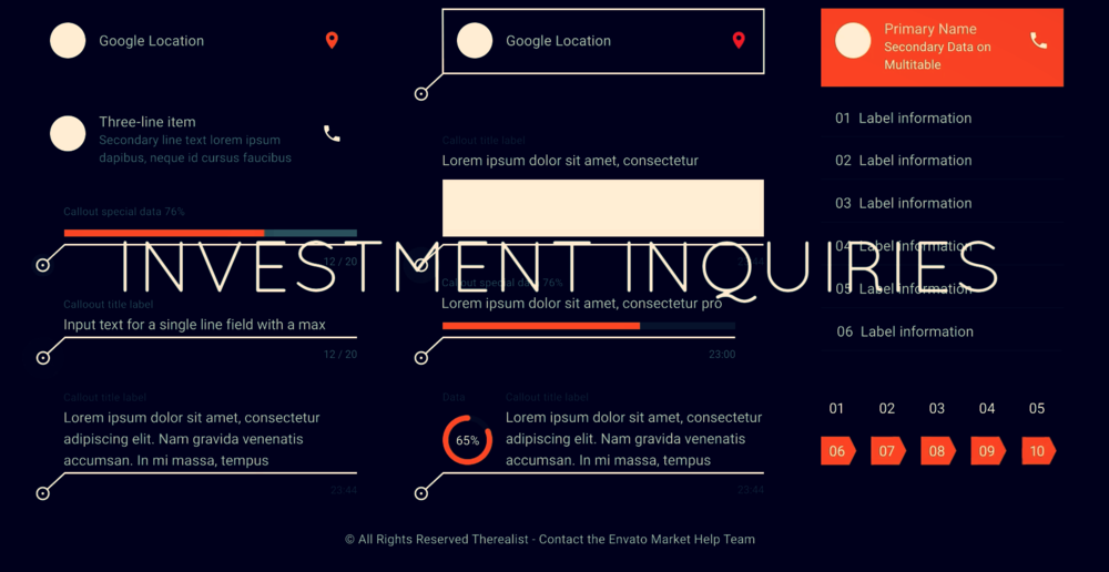 INVESTMENT INQUIRIES