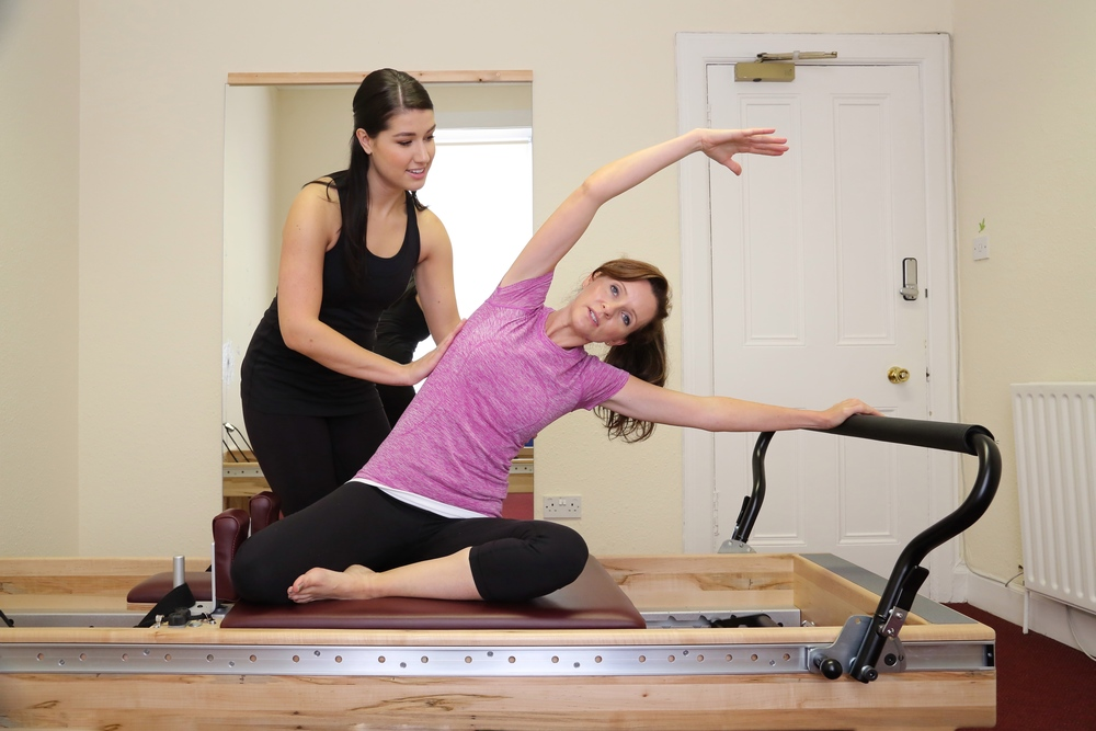Reformer - Side Bend Mermaid
