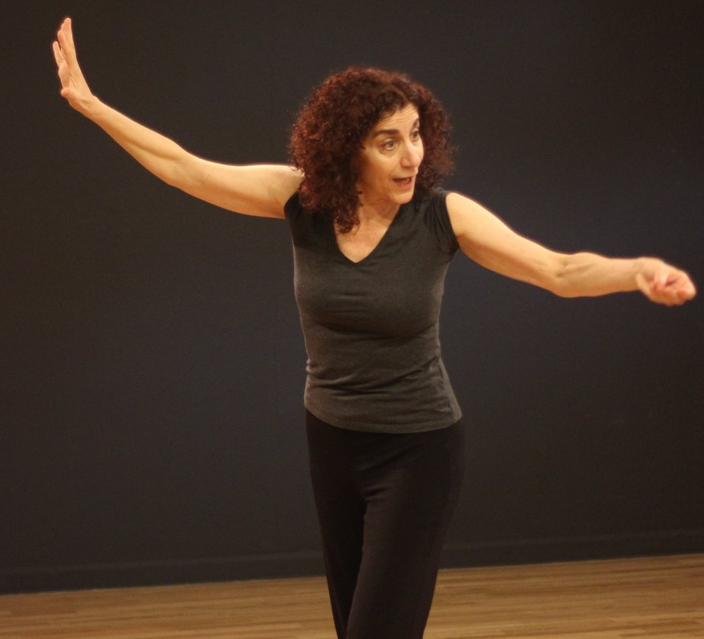 Kari Margolis leads a masterclass at the NYC studio of ATMOTION