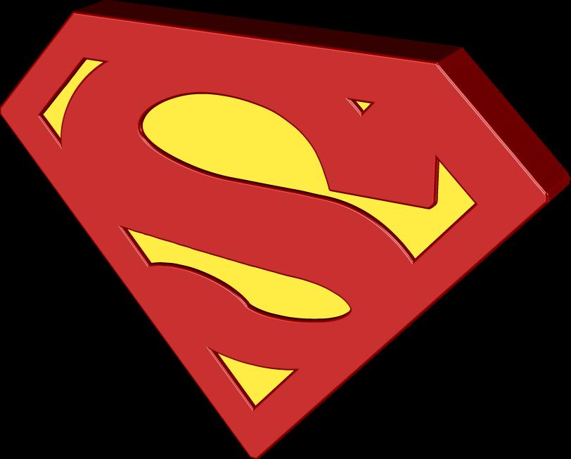superman 3D logo
