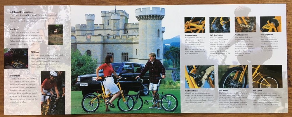 Land Rover APB brochure