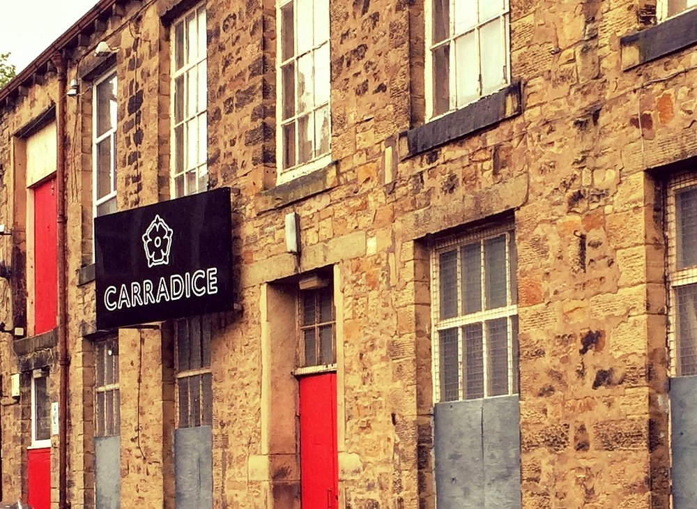 The Carradice works in Nelson, Lancashire.
