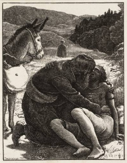 Sir John Everett Millais   The Good Samaritan,  1863