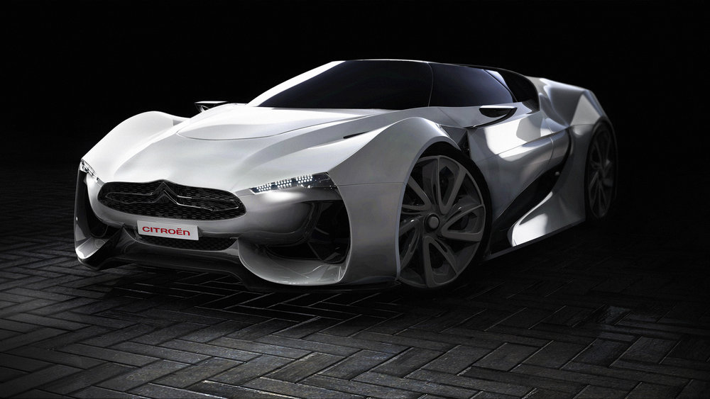 Citroen GT. Responsible for all aspects. 2014