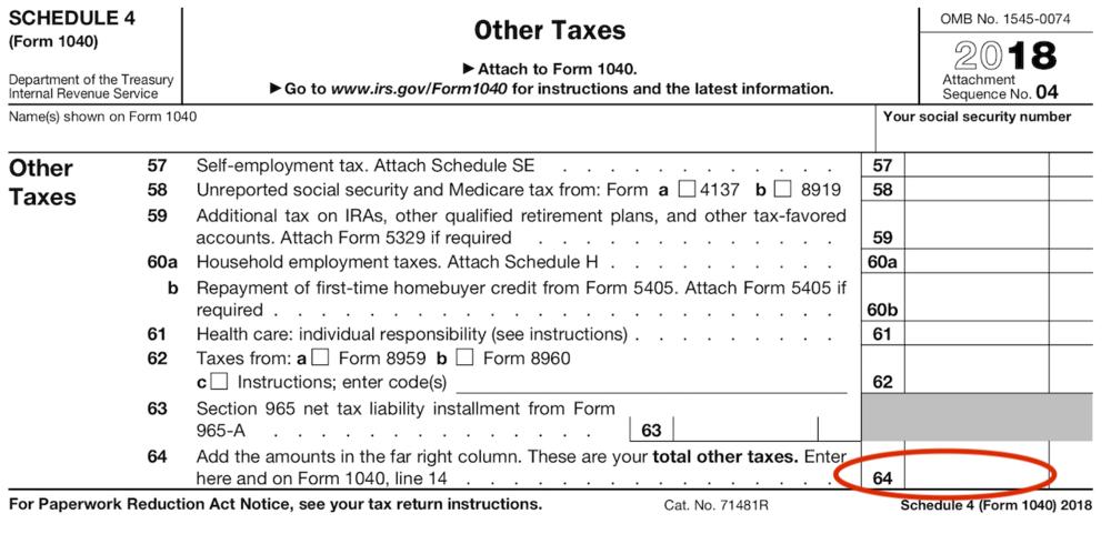 By billupsforcongress 2018 Form 1040 Instructions Irs gov