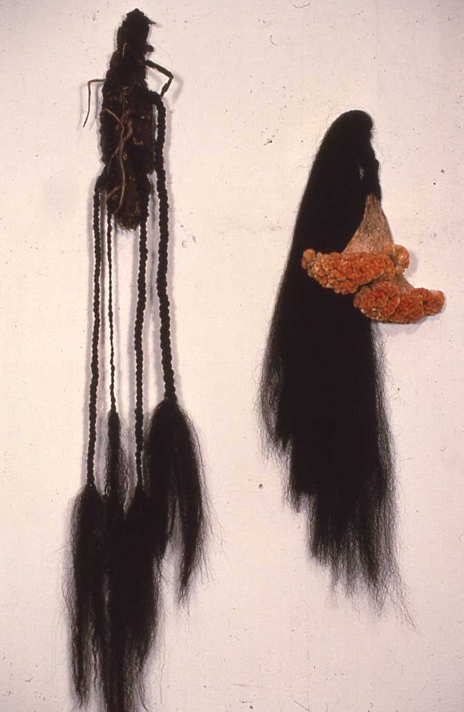 Bark, hair, cockscomb