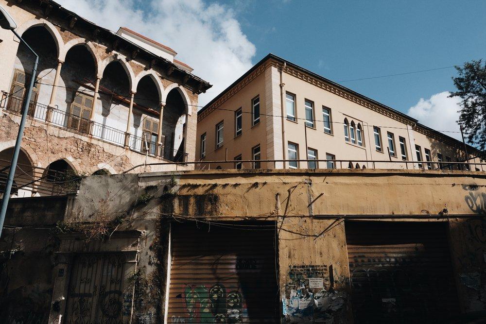 Bliss Street, Beirut.