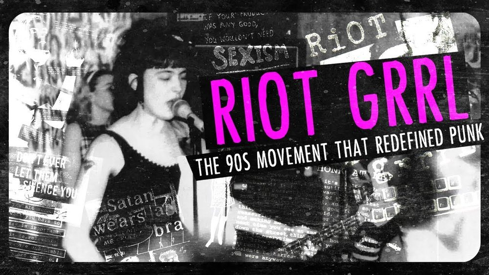 These days, whenever I am in low spirits, I remember riot grrrl magazines