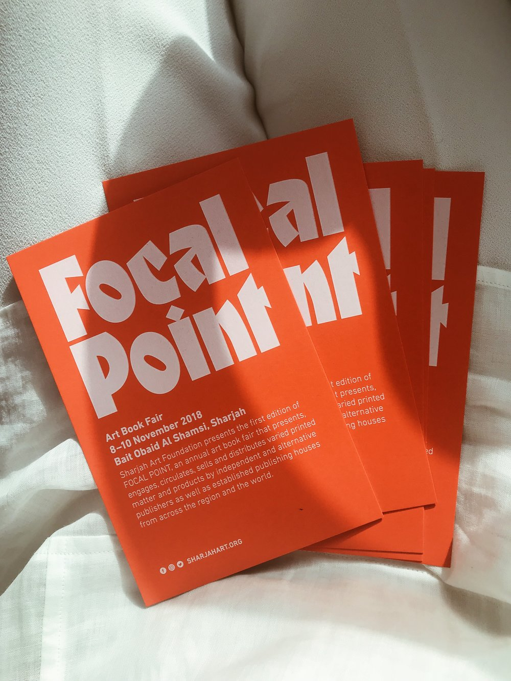 FOCAL POINT is Sharjah Art Foundation's annual art book fair running from 8 - 11 November 2018