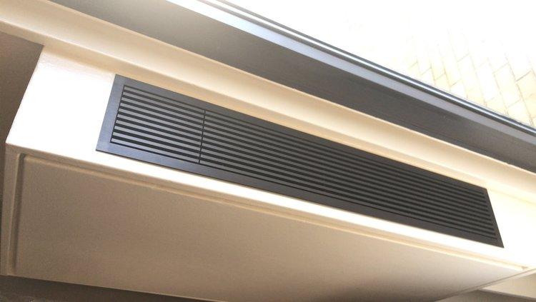 portfolio — megavision hvac - architectural grilles, water coil