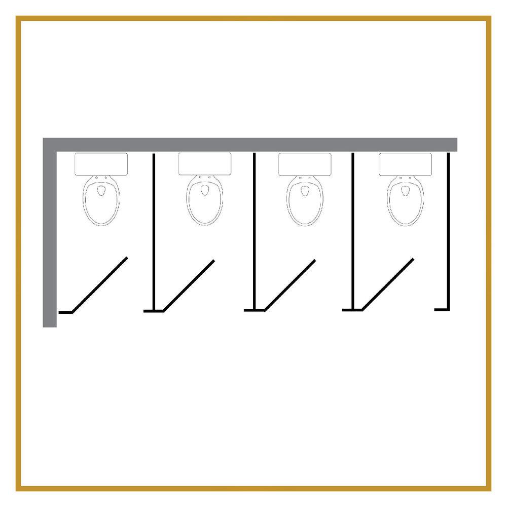 4 Regular Stalls