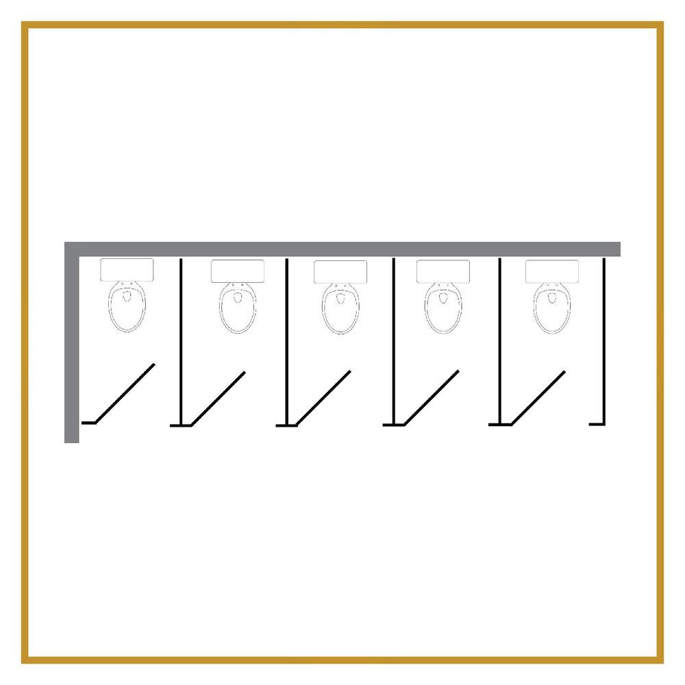 5 Regular Stalls