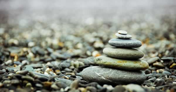zen balancing rocks