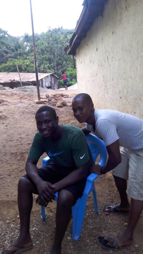 A first picture from Usifu in Sierra Leone