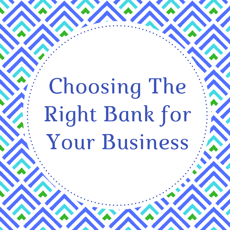 Choosing the Right Bank for Your Business   The first step in creating a great financial system is setting up a bank account just for your business. Download this checklist to help you search for the right bank account. Use the printable to get an idea of what is important to your business and see what bank best matches what you need.  Check out this blog series to learn more.