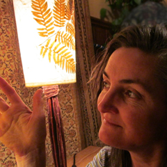 Leah Baker, founder of    Luminosa Lighting  in Asheville, NC