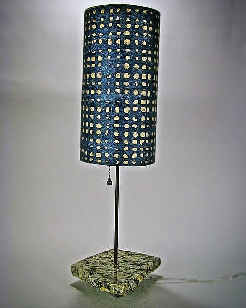 Love this Indigo Weave. What do you think? Contact me and let's make the perfect lamp design for your home!  #giftsforthehome #giftideas #luminosalighting #lightandcolor #lightingdesign #interiorlighting #lampdesign #lamps #desklamp #lighting #floorlamp #homedecor #lampshadedesign #craftlamp #interiordesign #artisansonmain #designideas #decorideas #homedecor #handmade #handcrafted #weaverville #nc #ncart #textiles