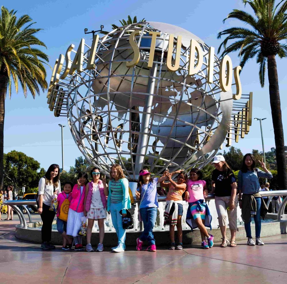 English Camp at Universal Studios