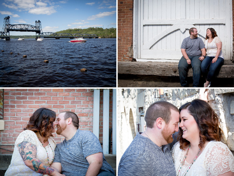01-downtown-stillwater-minnesota-engagment-session-mississippi-river-textured-walls-melanie-mahonen-photography