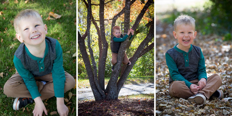 01-fall-child-portraits-french-park-kid-in-tree-leaves-melanie-mahonen-photography