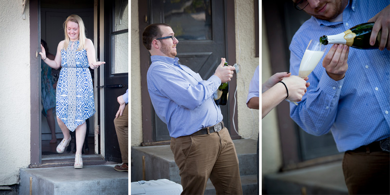 01-minnesota-summer-backyard-surprise-engagement-party-popping-champagne-bottles-melanie-mahonen-photography