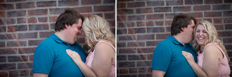 02-minnesota-summer-engagement-session-brick-wall-laughing-fun-casual-portraits-melanie-mahonen-photography
